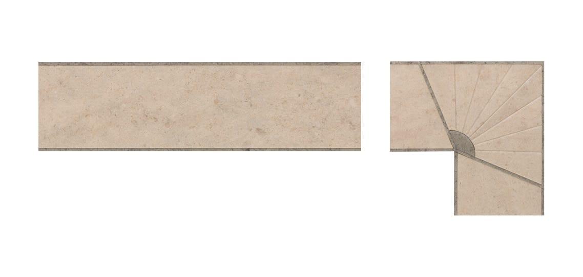 Deco Pleat Border AR0B680B & Corner AR0C68SB