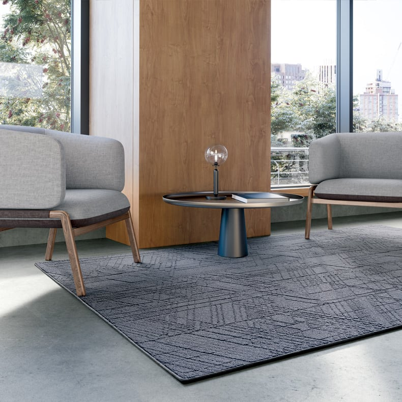 Mannington Assembled On-site Rug Program